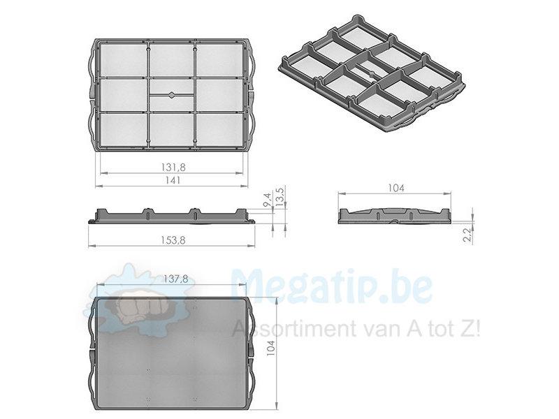 Bosch / Siemens / VS63A2310/ BSG8180101/ VS08  filter