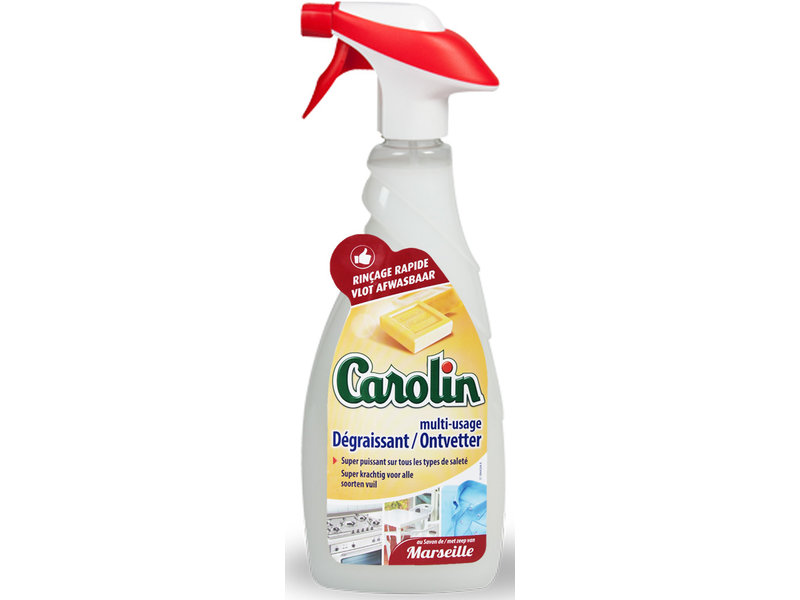 "Carolin Ontvetter met Marseillezeep ""Multi-Oppervlakken Spray""  650 ml"