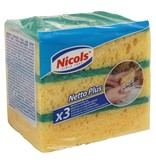 "Nicols Schuurspons ""Netto Plus""  3 stuks"
