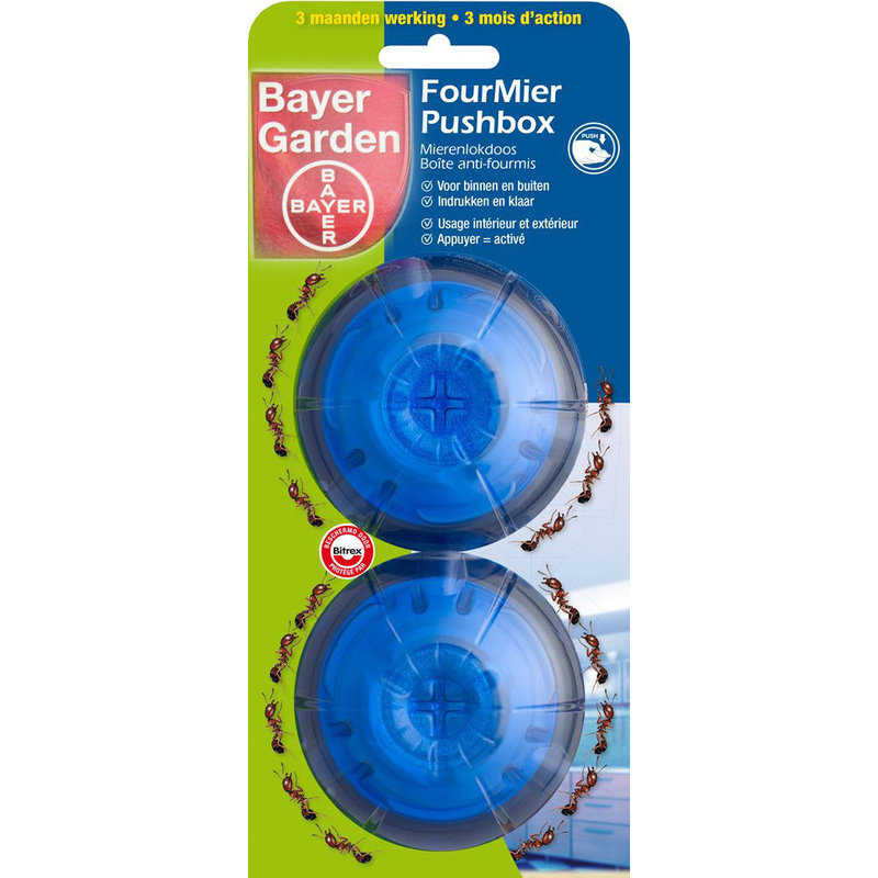 "Bayer Garden  Mierenlokdoos  ""FourMier  pushbox"""