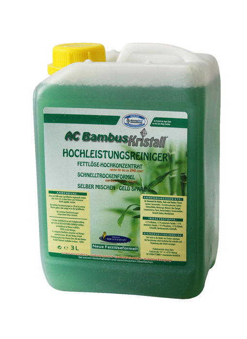 Bambus Kristall high-performance cleaner 3 L.