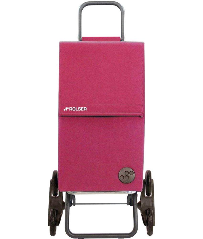 """Rolser Boodschappentrolley 6 wielen Bordeaux  """"PARIS MF RD6"""""""