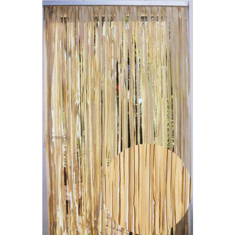 """Deurgordijn Maïs """"Lima"""" Beige  90 x 200 cm"""