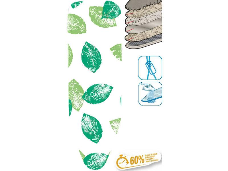 """Strijkplankhoes 5 lagen maat C    """"Leaves Scanned"""""""