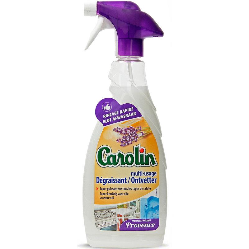 "Carolin Ontvetter met Marseillezeep Provence  ""Multi-Oppervlakken Spray"" 650 ml"