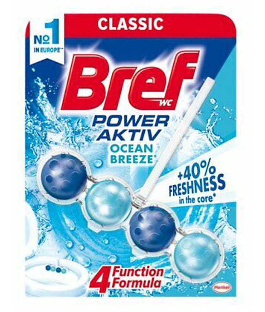 "Bref WC-hanger Power Activ' ""Ocean breeze"" 50 gr."