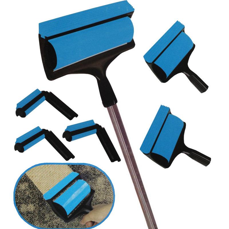Pluisverwijderaar - 6-delig - blauw/zwart