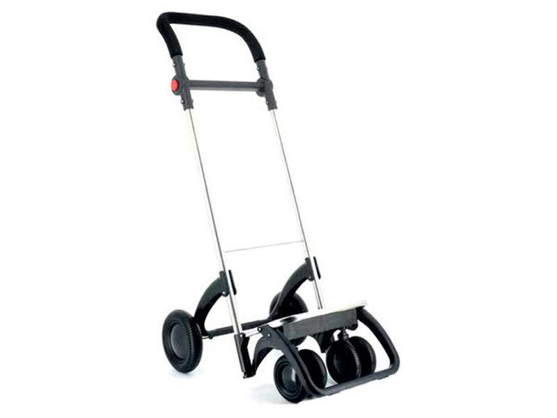 """Rolser Boodschappenwagen roterende voorwielen en verstelbare handgreep - donker Grijs  """" I-BAG MF 4.2 TOUR PLUS"""""""