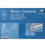 Strijkplankhoes 2 laags met elastiek A -  Grey / gravity