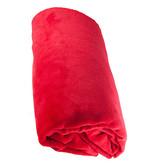 Fleece deken Coral 130x170 cm   Rood