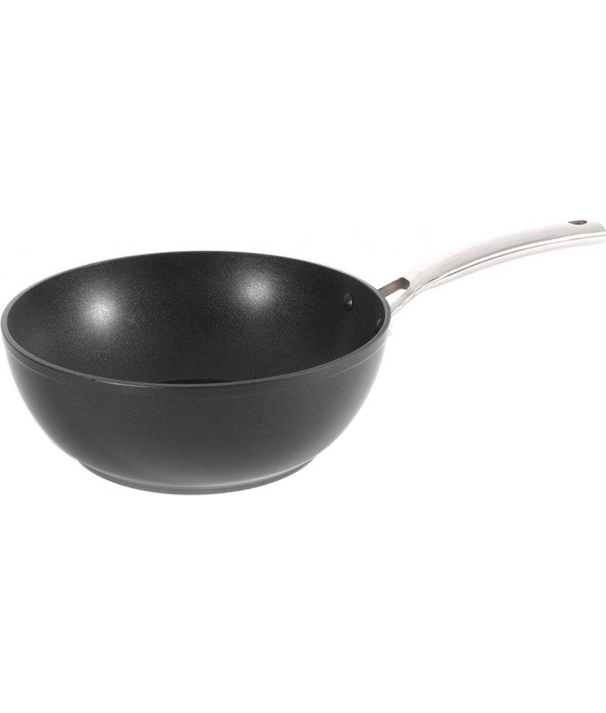 "Haute Cuisine Wokpan 28 cm   ""Vulcano-Rock"""
