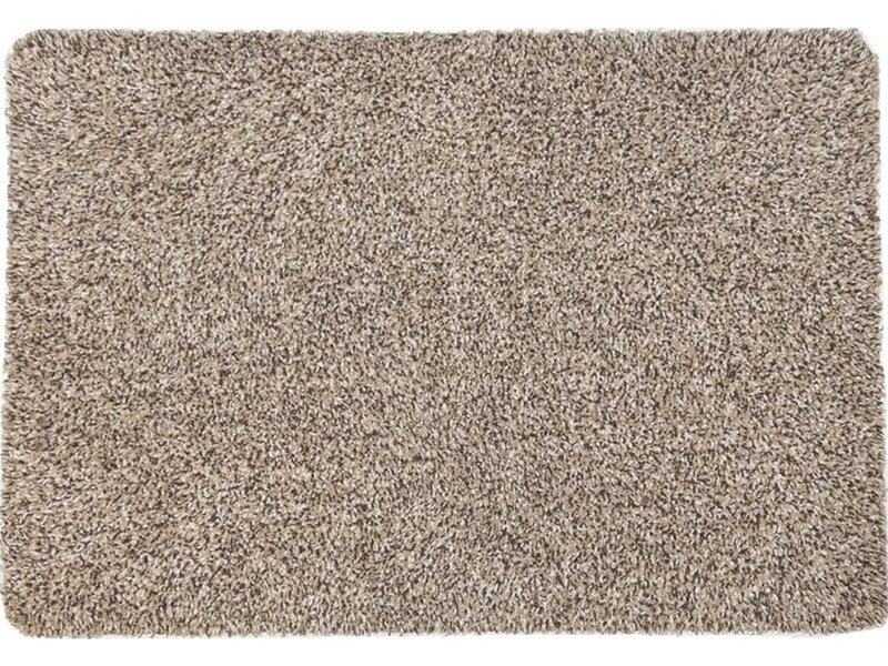 Wasbare droogloopmat Creme 65 x 100 cm.