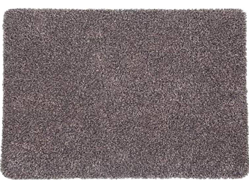Wasbare droogloopmat Taupe 65 x 100 cm.