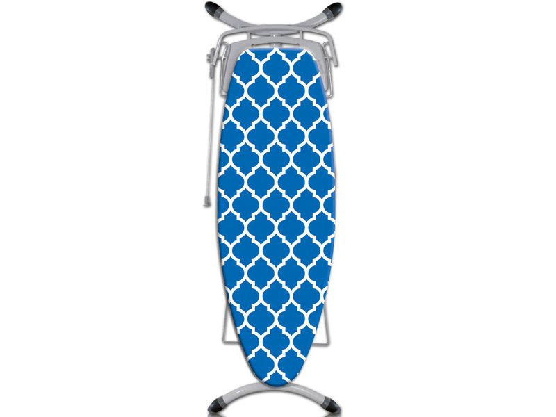 """Strijkplankhoes 5 lagen maat  A  """"Blue Symmetry"""""""