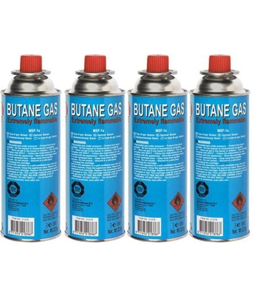 Gasvulling  227 gram   -   Butaangas   (4 Stuks)