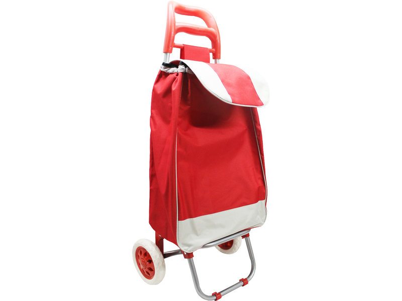 Boodschappentrolley 33 L.   Rood