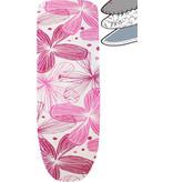 Strijkplankhoes 2 laags met elastiek C - Pink Flower