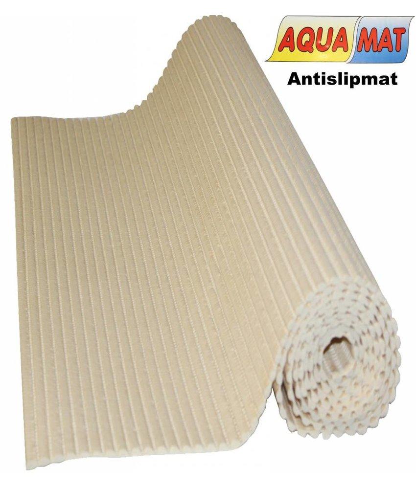 Aquamat antislipmat effen beige 0,65 x 1 meter