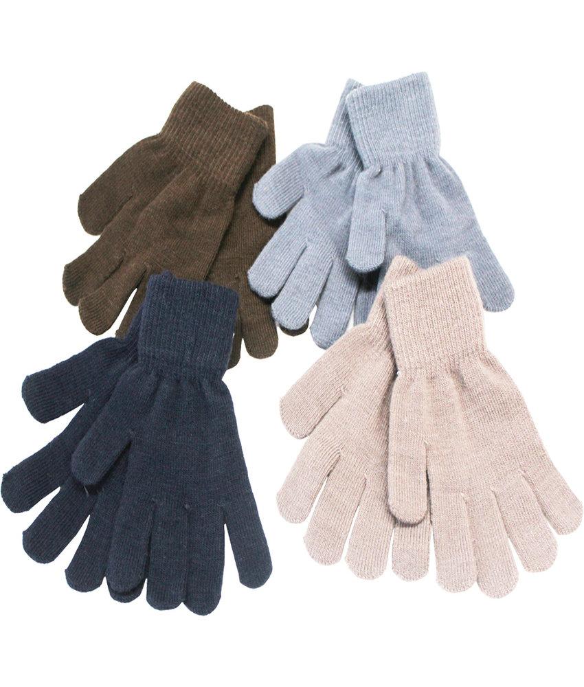 Magic Handschoenen kids  dun gebreid  6- 12 jaar
