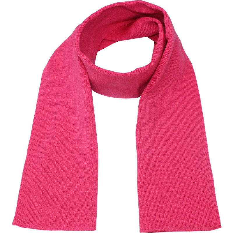 Gebreide Sjaal 150 x 22 cm. - Roze