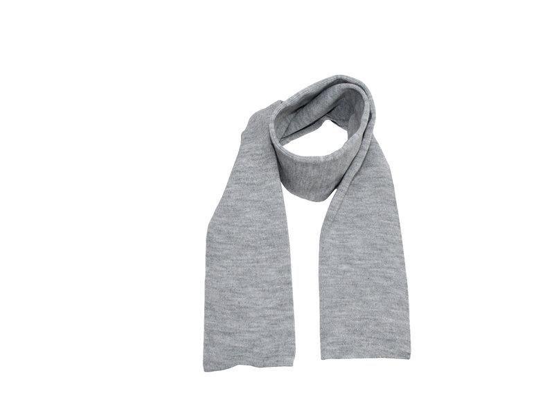Gebreide Sjaal 150 x 22 cm. - Licht Grijs