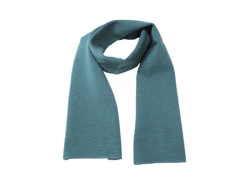 Gebreide Sjaal 150 x 22 cm. - holly   Groen