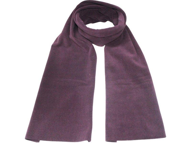Fleece Sjaal Dubbel 170 x 30 cm  Mauve