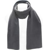 Fleece Sjaal Dubbel 170 x 30 cm  Antraciet Grijs