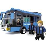Spelersbus  Club Brugge met 3 spelers