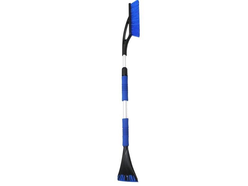 IJskrabber met Sneeuwborstel , telescopisch  tot 120 cm