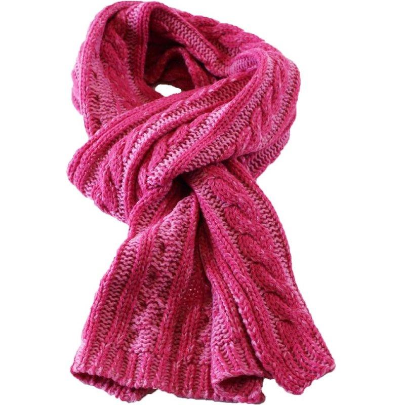 Sjaal gebreid kabel