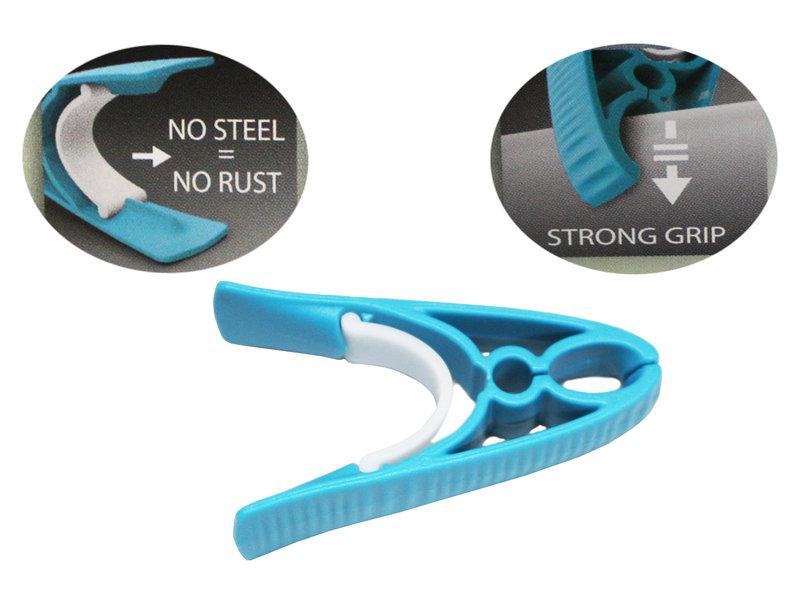 Wasspelden PVC   Strong  Grip -  18 stuks