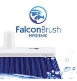 FalconBrush Schuurborstel 30 cm / Luiwagen  Food  - Blauw