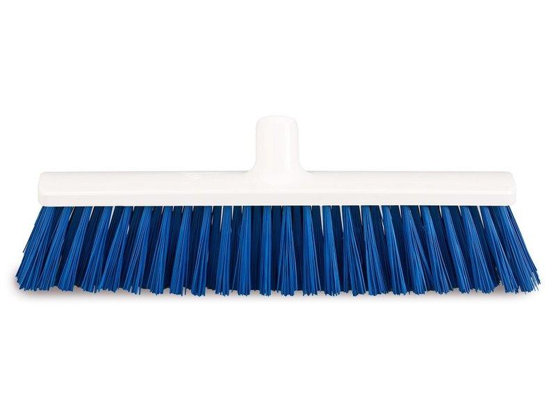 FalconBrush Harde bezem / Straatkeerder 40 cm.  Blauw