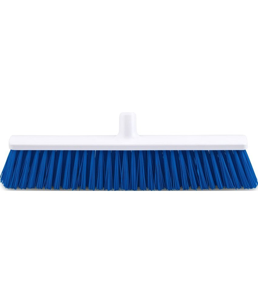 FalconBrush Harde bezem / Straatkeerder 50 cm.  Blauw