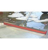 Vloertrekker 55 cm  -  Oliebestendig  rood