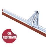 Vloertrekker 45 cm  -  Oliebestendig  rood