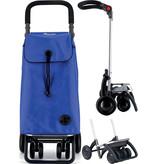 """Rolser Boodschappenwagen roterende voorwielen en verstelbare handgreep - Blauw  """" I-BAG MF 4.2 TOUR PLUS"""""""
