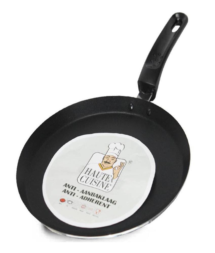 Haute Cuisine Pannenkoekenpan  Teflon met  Anti-Aanbaklaag   25 cm.