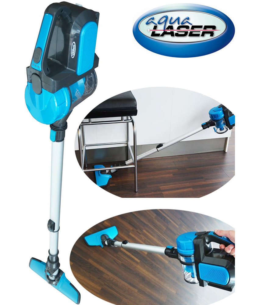 "Aqua Laser Freedom  ""Snoerloze stofzuiger""  Blauw"