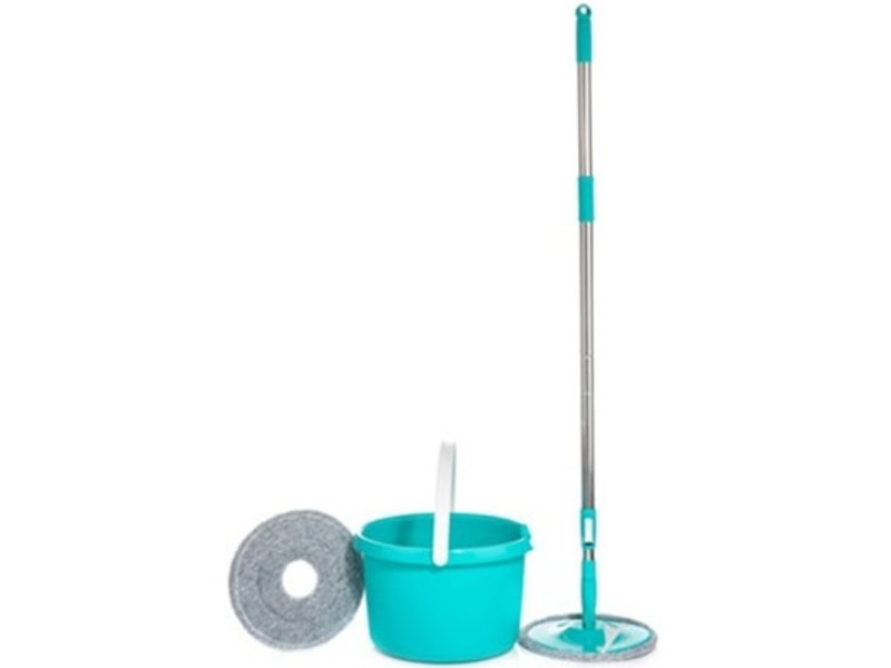 Aqua Laser Spin & Flap Microvezel Mop  - turquoise