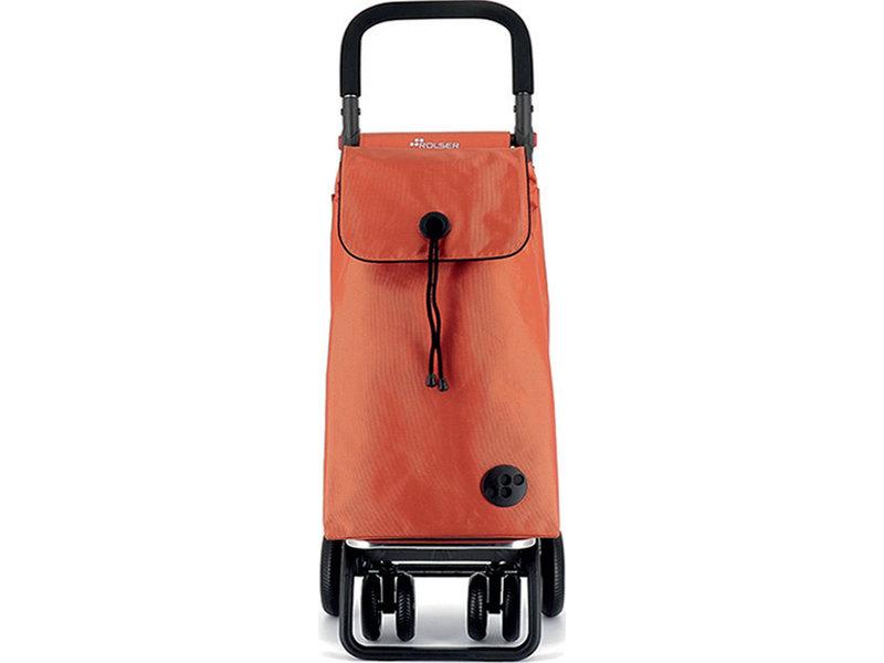 """Rolser Boodschappenwagen roterende voorwielen en verstelbare handgreep - Oranje """" I-BAG MF 4.2 TOUR PLUS"""""""