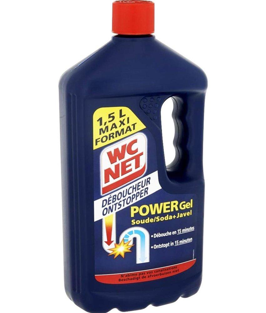 WC Net Ontstopper Power Gel 1,5 L - Soda + Javel