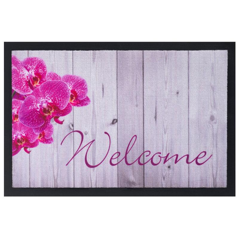 Schoonloopmat 40 x 60 cm -  Image Welcome Orchid