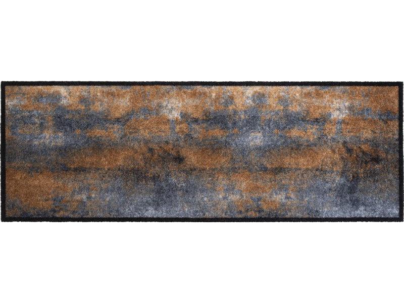 Wasbare Schoonloopmat Rust 50 x 150 cm.