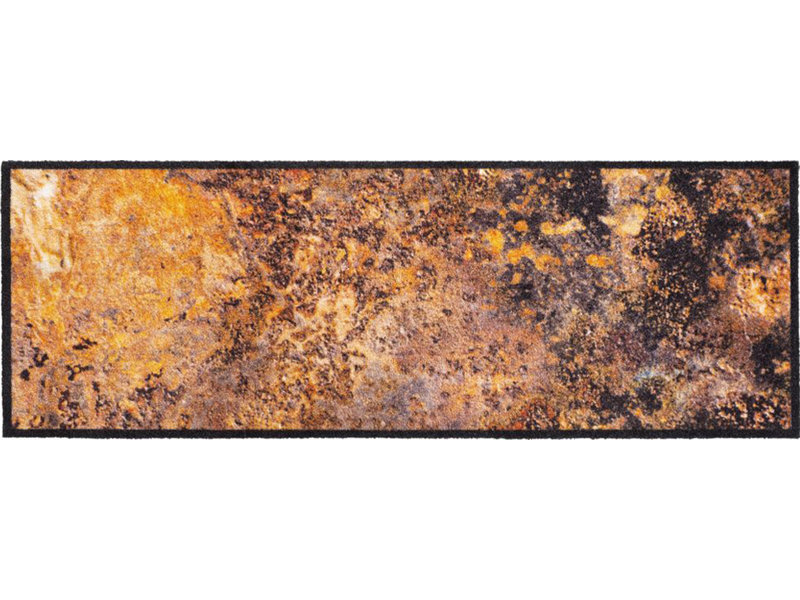 Wasbare Schoonloopmat Lava 50 x 150 cm.