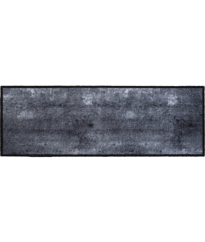 Wasbare Schoonloopmat Concrete  50 x 150 cm.