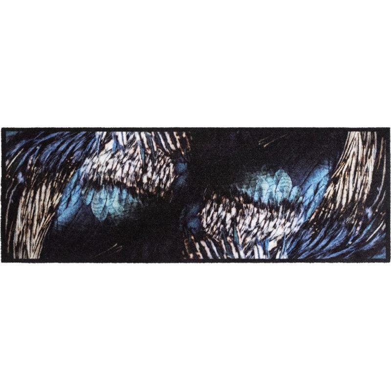 Wasbare Schoonloopmat Wings  50 x 150 cm.