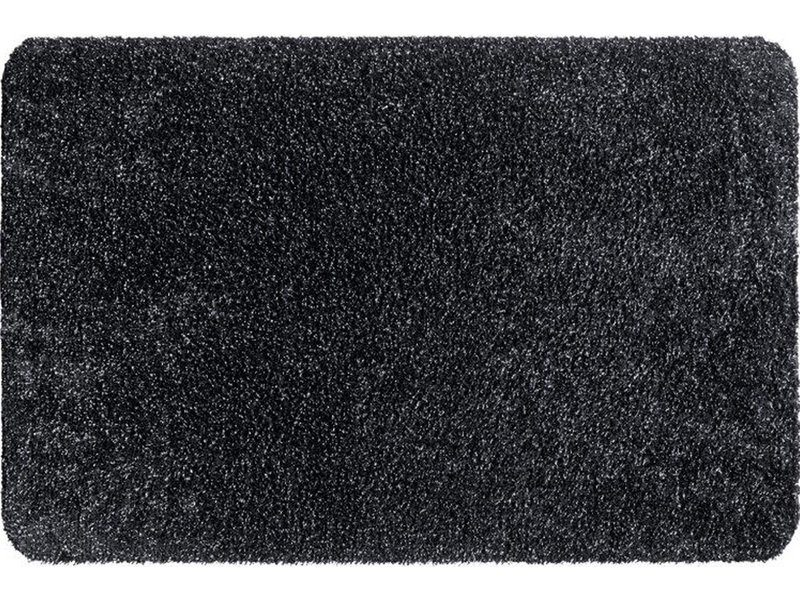 Wasbare droogloopmat Graphite  50x80 cm.