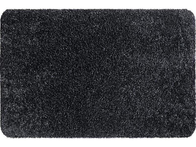 Wasbare droogloopmat Graphite  60x100 cm.